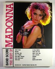 THE BEST OF MADONNA BAND SCORE JAPAN GUITAR TAB