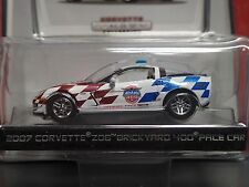 GREENLIGHT CORVETTE COLLECTION 2007 CORVETTE Z06 BRICKYARD 400 PACE CAR 1:64