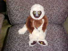 """16"""" Zoboomafoo Zoboo Lemur Monkey Plush Toy By Eden From 2000 Very Nice"""
