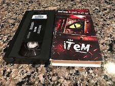 The Item Rare VHS! 2001 Internet Alien Horror! Dan Lake