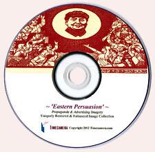 HI-RES PROPAGANDA POSTERS & MORE - Restored Vintage Images DVD - Make Big Prints