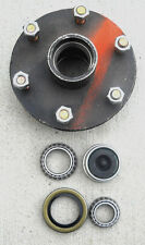 1- 6x5.5 Idler Hub w/ 3500# Bearing Kit Replace Trailer Axle fits Dexter ALKO