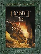 HOBBIT DESOLATION OF SMAUG Extended Edition Bluray 3D 2D UV DIGITAL COPY BOX SET