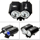 5000 LM 2x CREE T6 LED SolarStorm Front Bicycle Light Bike Headlight Only Light