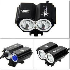 5000Lumen 2x T6 LED SolarStorm Front Bicycle Light Bike Headlight Only Light New