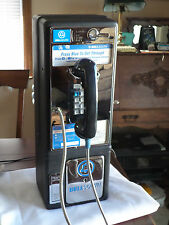 Really Coin Op Voice Prompt Refurbished Vintage Bell South Press Blue Payphone