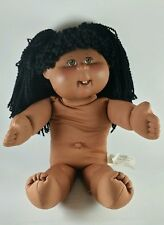 African American Cabbage Patch Female Doll - 2 Front Teeth Yarn Hair