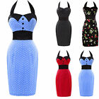 NEW Ladies Vintage 1950's style Party Pencil Wiggle Pin-up Work Dress