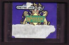 SEGA GENESIS Game:  WARRIOR OF ROME - Classic Game