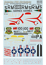 Print Scale 72-087 Decal for Douglas F3D Skyknight 1:72