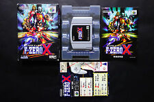 F-ZERO X Nintendo 64 N64 JAPAN USED/Good.Condition