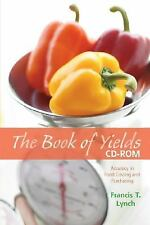 The Book of Yields, CD-ROM: Accuracy in Food Costing and  Purchasing  0470167645