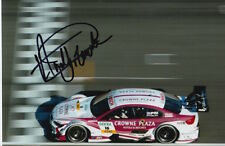 ANDY PRIAULX HAND SIGNED BMW DTM 6X4 PHOTO TOURING CARS AUTOGRAPH 1.