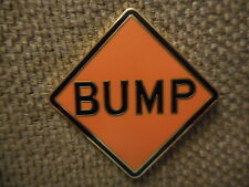 "ON SALE Rare ""Bump"" Pin FREE SHIPPING (Heady Electronic Dubstep Music Hat Pins)"