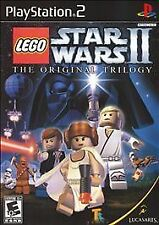 PS2 - LEGO Star Wars II: The Original Trilogy (Greatest Hits) - Complete
