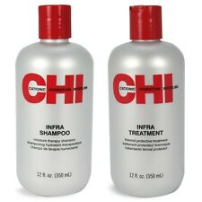 Duo NEW Chi Infra Shampoo And Treatment 12 Ounces Each Its A Set (1 Lot)