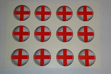 "12 SAINT GEORGE LAWN BOWLS STICKERS 1"" CROWN GREEN BOWLS FLATGREEN INDOOR BOWLS"