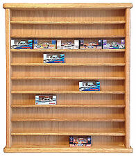 Oak 50 Car Display Case For Boxed 1/64th Scale Diecast Cars