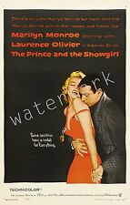 MARILYN MONROE - 1957 - THE PRINCE AND THE SHOWGIRL -12X18 INCH MOVIE POSTER