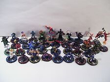 LOT OF 36 HERO CLIX GAME FIGURES, MARVEL RASPUTIN DR DOOM ELECTRA TOMOE SHE HULK