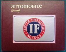 AUTOMOBILE QUARTERLY VOLUME 12 NO 1 FIRST QUARTER 1974 VORDERMAN CAR BOOK