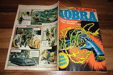 KOBRA # 33 / 1977 -- mit TRIGAN + POSTER