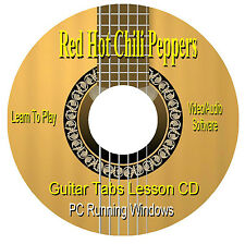 Red Hot Chili Peppers *GUITAR TABS * Lesson Software CD - 132 SONGS