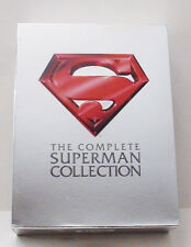 The Complete Superman 4 Movie Collection Box Set Christopher Reeve Gene Hackman