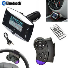 Car MP3 Player Bluetooth  Aux for iPhone USB Charger LCD Wireless FM Transmitter