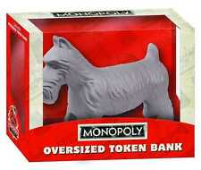 MONOPOLY OVERSIZED TOKEN BANK THE DOG NEW IN BOX #sapr16-38