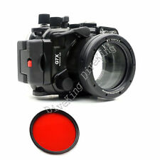 40M 130ft Underwater Waterproof Housing Case for Canon G7X Camera