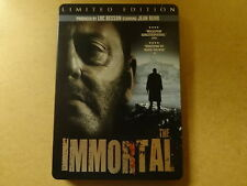 METAL CASE LIMITED EDITION DVD / THE IMMORTAL ( JEAN RENO )