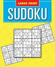 Classic Large Print Sudoku by Arcturus Publishing (2015, Paperback)