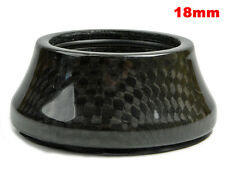 "OMNI Racer WORLDS LIGHTEST Integrated Headset Conical Carbon Spacer 1-1/8"" 18mm"