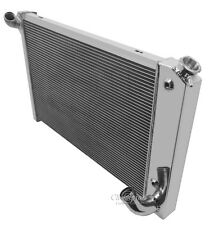 1969 70 71 72 Chevrolet Corvette Sm Block Champion 3 Row Core Aluminum Radiator
