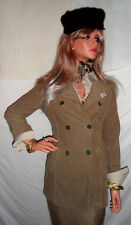 FASHION ALERT! Rare NWT IKKS $395 XS Army Green Corduroy FRENCH JACKET MUST SEE!