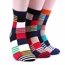 [FREE P&P] MEN's MOSAIC Pattern SOCKS(5-PACK) Mondrian Paul Smith Patch MAN ED