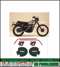 kit adesivi stickers compatibili  xt 500 1980