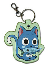 Fairy Tail Happy Eating Fish PU Keychain OfficialLicensed GE37293