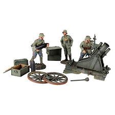 BRITAINS SOLDIERS 23083 - 1916-18 German 170 cm Minenwerfer & Three Infantry WW1