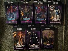 Marvel legends guardians of the galaxy Vol.2 wave 1-titus baf series-lot de 7