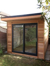 3m x 2.4m Garden Room / Home Office / Studio / Summer House / Log Cabin / Chalet