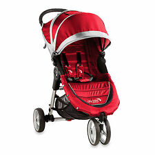 Baby Jogger 2016 City Mini Single Stroller - Crimson/ Gray - New! Free Shipping!