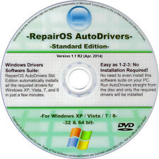 Windows Drivers Auto Install DVD Standard - Re-install Any Driver - XP/Vista/7/8
