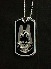 Halo ODST Symbol Dog Tag Necklace Video Game Handmade halo dog tags