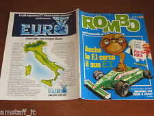 RIVISTA ROMBO 1983/2=EPCOT CENTER=LOTUS SUPER 7=AUDI TRESER=AYRTON SENNA=