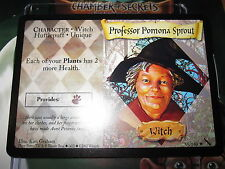 HARRY POTTER TCG CARD CHAMBER OF SECRETS PROFESSOR POMONA SPROUT 45/140 R MINT