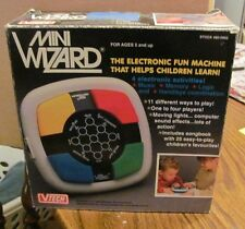 Vtech V Tech Mini Wizard TESTED WORKS GREAT with box