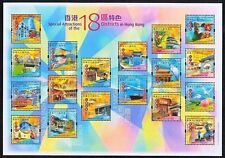 China Hong Kong 2006 Attractions of 18 Districts in HK Stamp S/S