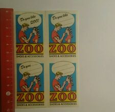 Autocollant/sticker: do you like zoo shoes & accessoires (2710166)